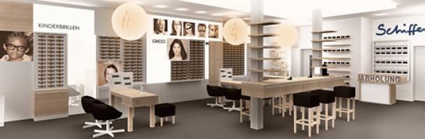 Shopdesign für Optiker